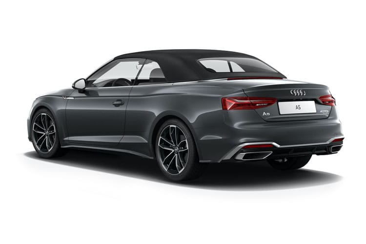 Audi A5 40 Cabriolet quattro 2Dr 2.0 TDI 190PS Sport 2Dr S Tronic [Start Stop] [Technology] back view
