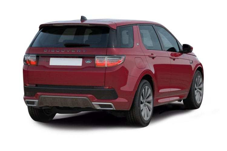 Land Rover Discovery Sport SUV 2.0 D MHEV 163PS S 5Dr Auto [Start Stop] [5Seat] back view