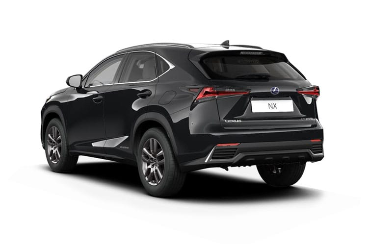 Lexus NX 300h SUV 4wd 2.5 h 197PS F-Sport 5Dr E-CVT [Start Stop] back view