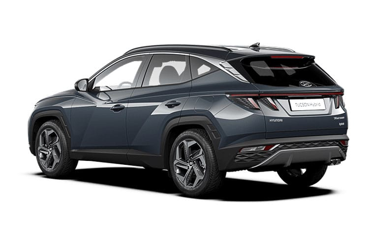 Hyundai Tucson SUV 1.6 h T-GDi 230PS Ultimate 5Dr Auto [Start Stop] back view