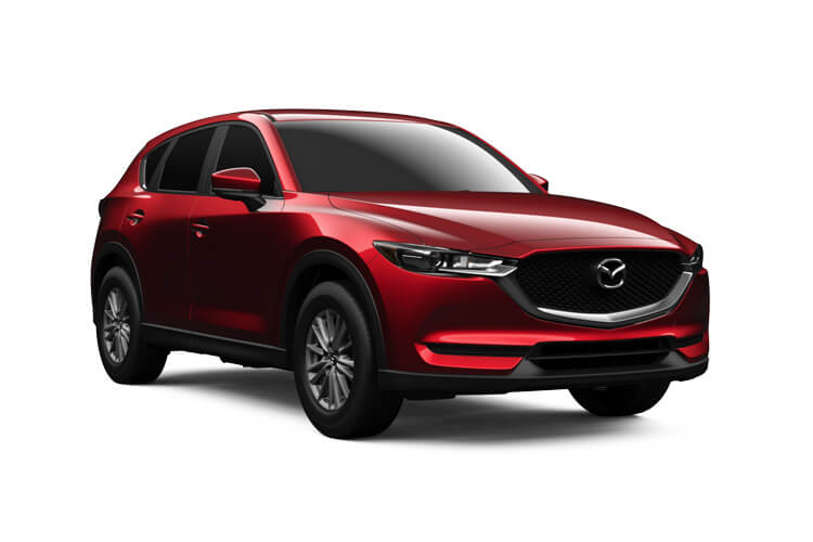 Mazda CX-5 SUV 4wd 2.2 SKYACTIV-D 184PS Sport 5Dr Auto [Start Stop] [Safety] front view