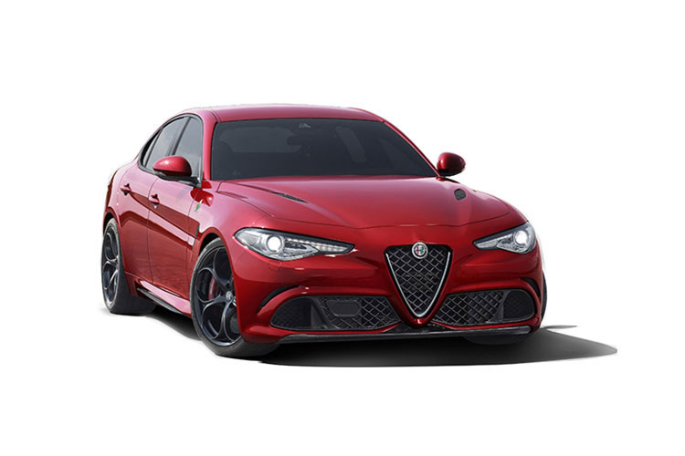 Alfa Romeo Giulia Saloon 2.0 T 200PS Lusso Ti 4Dr Auto [Start Stop] [Driver Assistance Plus] front view