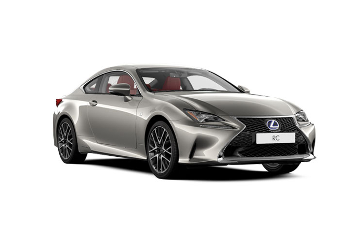 Lexus RC F Coupe 5.0 V8 463PS  2Dr Auto [SRoof] front view