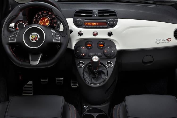 Abarth 595 C Cabrio 1.4 T-Jet 165PS Turismo 70th 2Dr Manual inside view