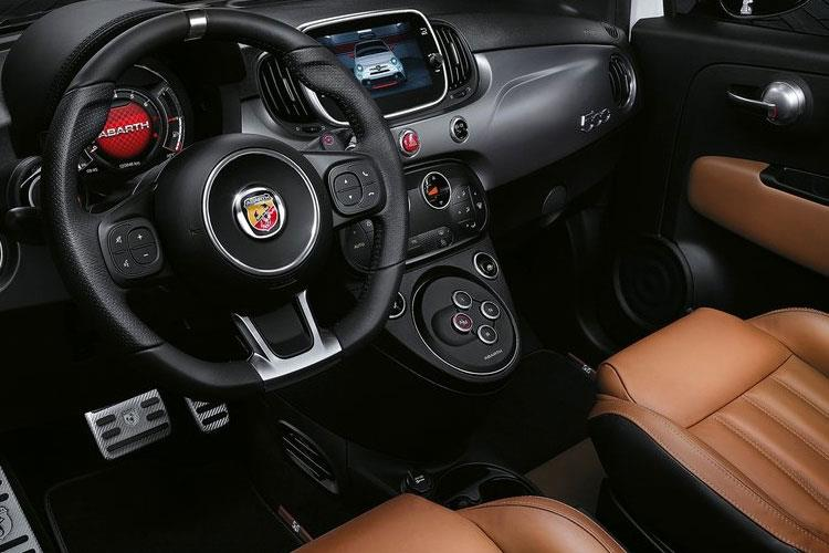 Abarth 595 Hatch 3Dr 1.4 T-Jet 165PS Turismo 3Dr Manual inside view