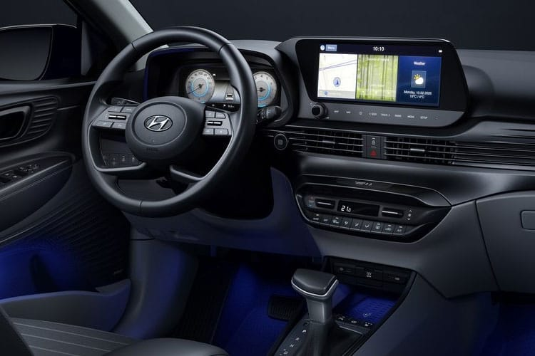 Hyundai i20 Hatch 5Dr 1.0 T-GDi MHEV 100PS Ultimate 5Dr Manual [Start Stop] inside view