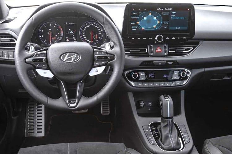 Hyundai i30 Hatch 5Dr 1.5 T-GDi MHEV 160PS N Line 5Dr Manual [Start Stop] inside view