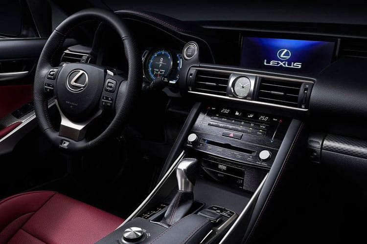 Lexus IS 300 Saloon 2.5 h 223PS IS 4Dr E-CVT [Start Stop] [Comfort SRoof] inside view