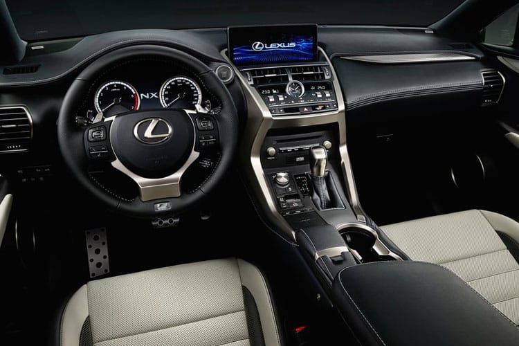 Lexus NX 300h SUV 4wd 2.5 h 197PS NX 5Dr E-CVT [Start Stop] [Premium Pan Roof] inside view