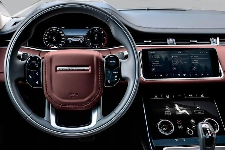Land Rover Range Rover Evoque SUV 5Dr 2.0 P MHEV 200PS  5Dr Auto [Start Stop] inside view