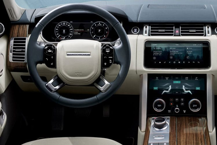 Land Rover Range Rover SUV 2.0 P400e PHEV 13.1kWh 404PS Fifty 5Dr Auto [Start Stop] inside view