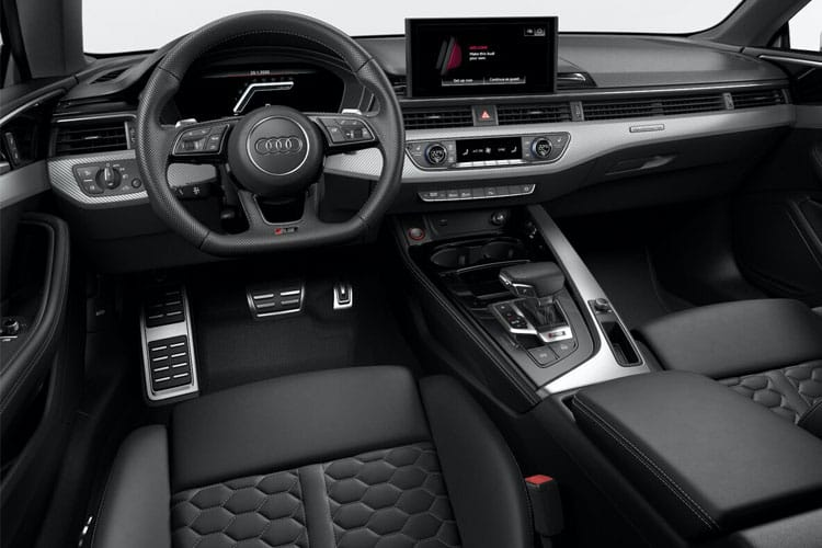 Audi A5 40 Sportback 5Dr 2.0 TDI 190PS Black Edition 5Dr S Tronic [Start Stop] [Technology] inside view